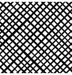 Grunge Diagonale Grid vector image vector image