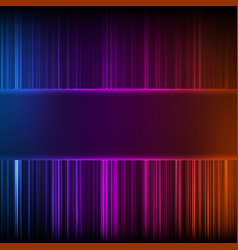 Abstract random glowing lines vector