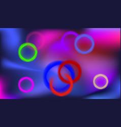 art futuristic colorful background vector image