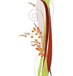 Autumn Calm Decoration vector image