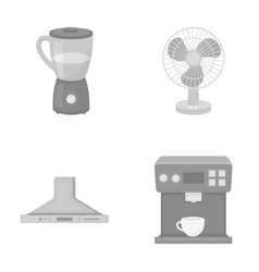 Blender extractor and other equipmenthousehold vector