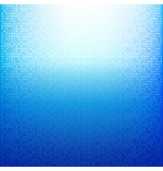 Blue Brick pixel mosaic abstract background vector image