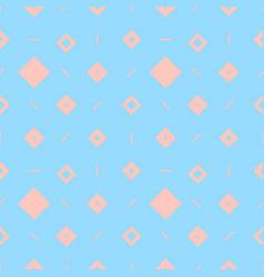 Blue diamonds pattern vector