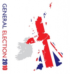 general election British vector image