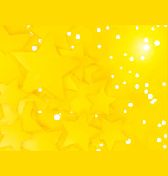 party stars background with white dots vector image