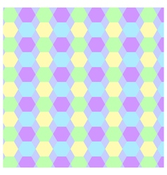 Pattern background hexagon vector