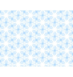 Pattern from snowflake vector image vector image
