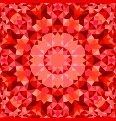 Red seamless abstract triangle mosaic vector