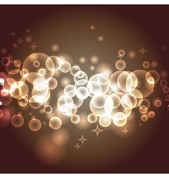 Transparent bokeh effect vector