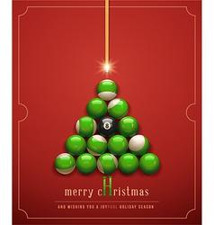 Creative Christmas Card vector image