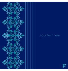 Antique ottoman turkish pattern design seventy one vector image