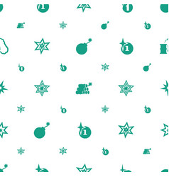 Bang icons pattern seamless white background vector