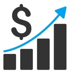 Financial Report Icon vector