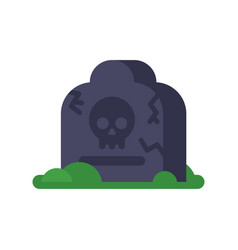 flat of grave vector image