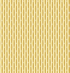 gold elongated hexagon pattern vector image