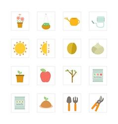 Icon garden vector