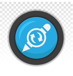 Past edit editing history - flat icon for apps vector