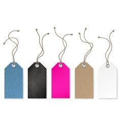 Set of price and sale tags for store vector