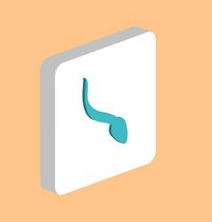 sperm computer symbol vector image