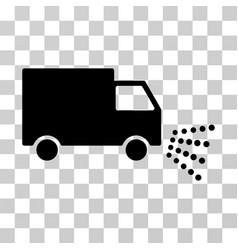 Washing car icon vector