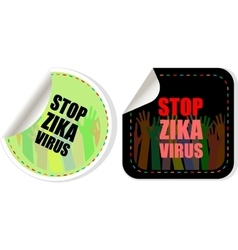Zika virus symbol Zika virus disease - vector image