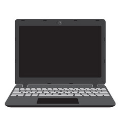 laptop screen notebook vector image