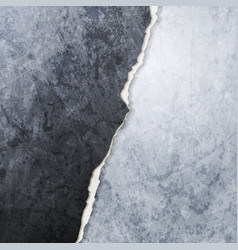 abstract grunge broken wall design vector image