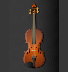 Background with classic violin vector