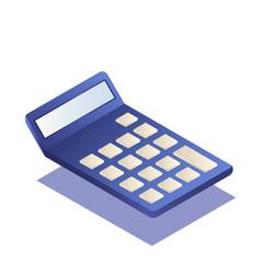 Calculator isometric vector