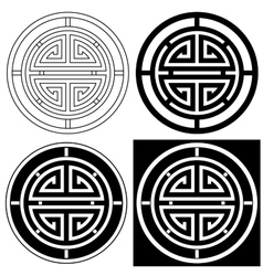 Chinese Lucky Symbol vector