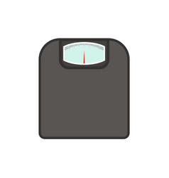 floor scales vector image