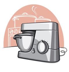 food processor vector image vector image