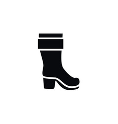 Isolated boots icon wellies element can be vector