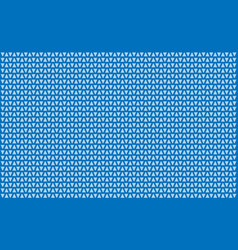 Many christmas herringbone with blue background vector