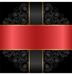 Red black vector