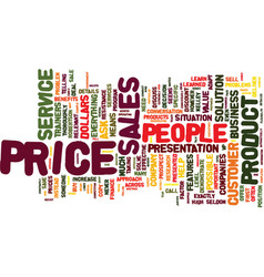 The myth about price text background word cloud vector