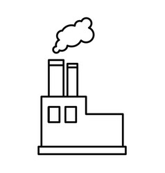 factory icon image vector image
