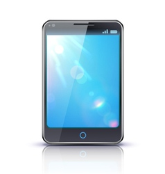 smartphone concept vector image vector image