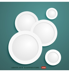 Abstract background and white community vector image