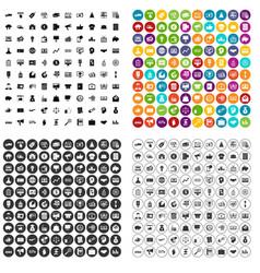 100 e-commerce icons set variant vector