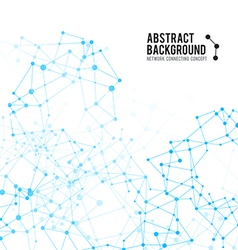 Abstract background network connect concept 004 vector