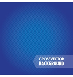 Cross background blue vector