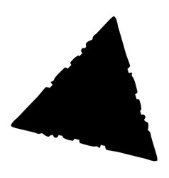 grunge triangle background vector image