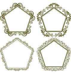 Pentagonal frame vector