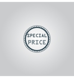 Special Price Icon Badge Label or Sticker vector image