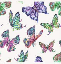 spring natural seamless pattern with vector image