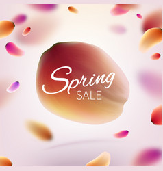stock hello hi spring sale vector image