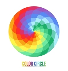 The palette of sixteen colors vector