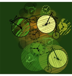 time travel vector image vector image