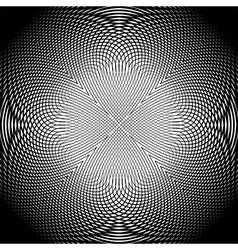 Design uncolored trellis interlaced background vector image